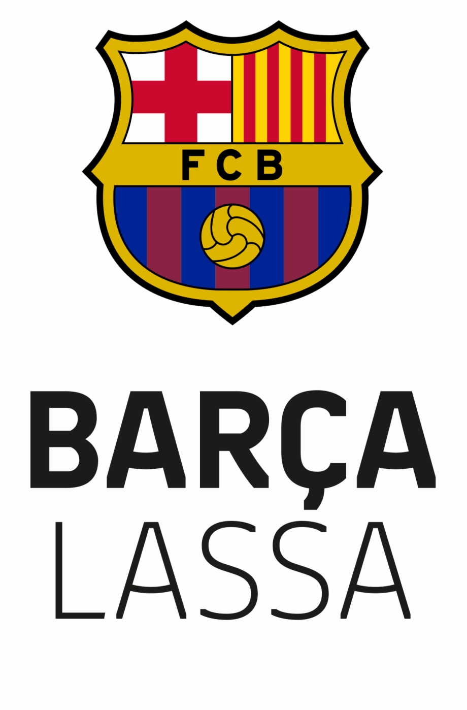 Fc Barcelona Lassa Logo, Transparent Png Download For Free #1029815.