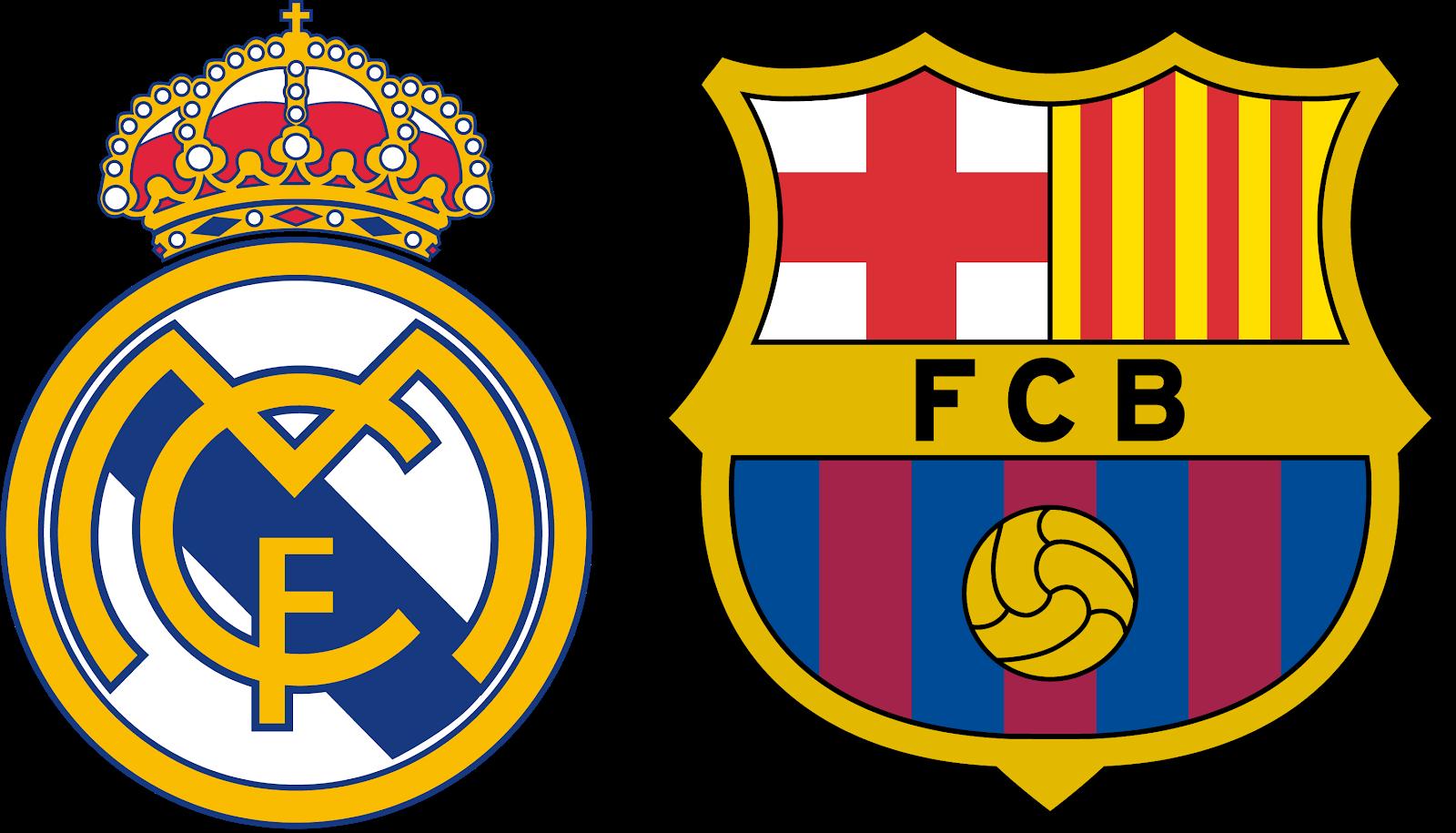 download logo fc barcelona real madrid svg eps png psd ai.