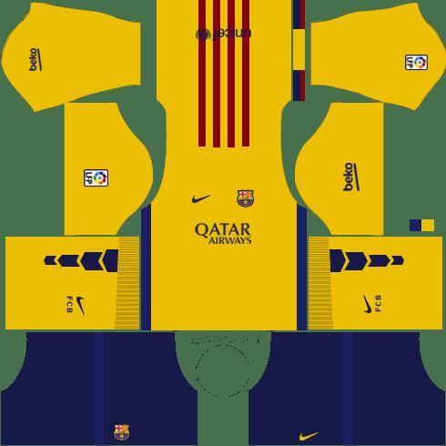 Dream League Soccer Kits Barcelona 2015/2016 with Logo URL.
