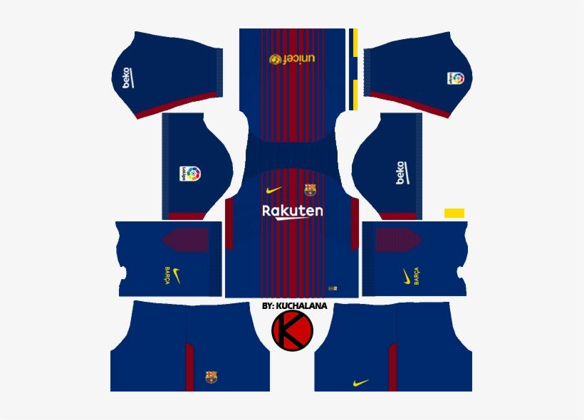 Barcelona Nike Home Kits 2017/2018.