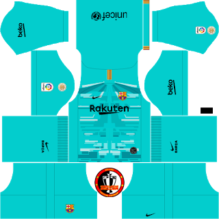 F.C. Barcelona 2019/2020 Nike Kit.