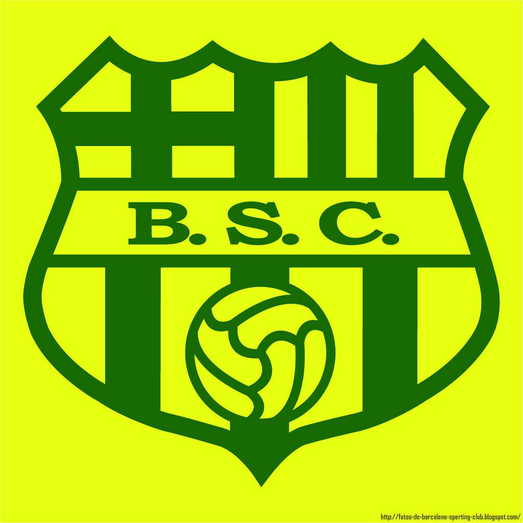 Escudo Barcelona Sporting Club.