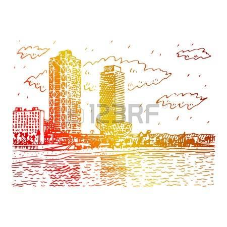 Spain Beach Stock Vector Illustration And Royalty Free Spain Beach.