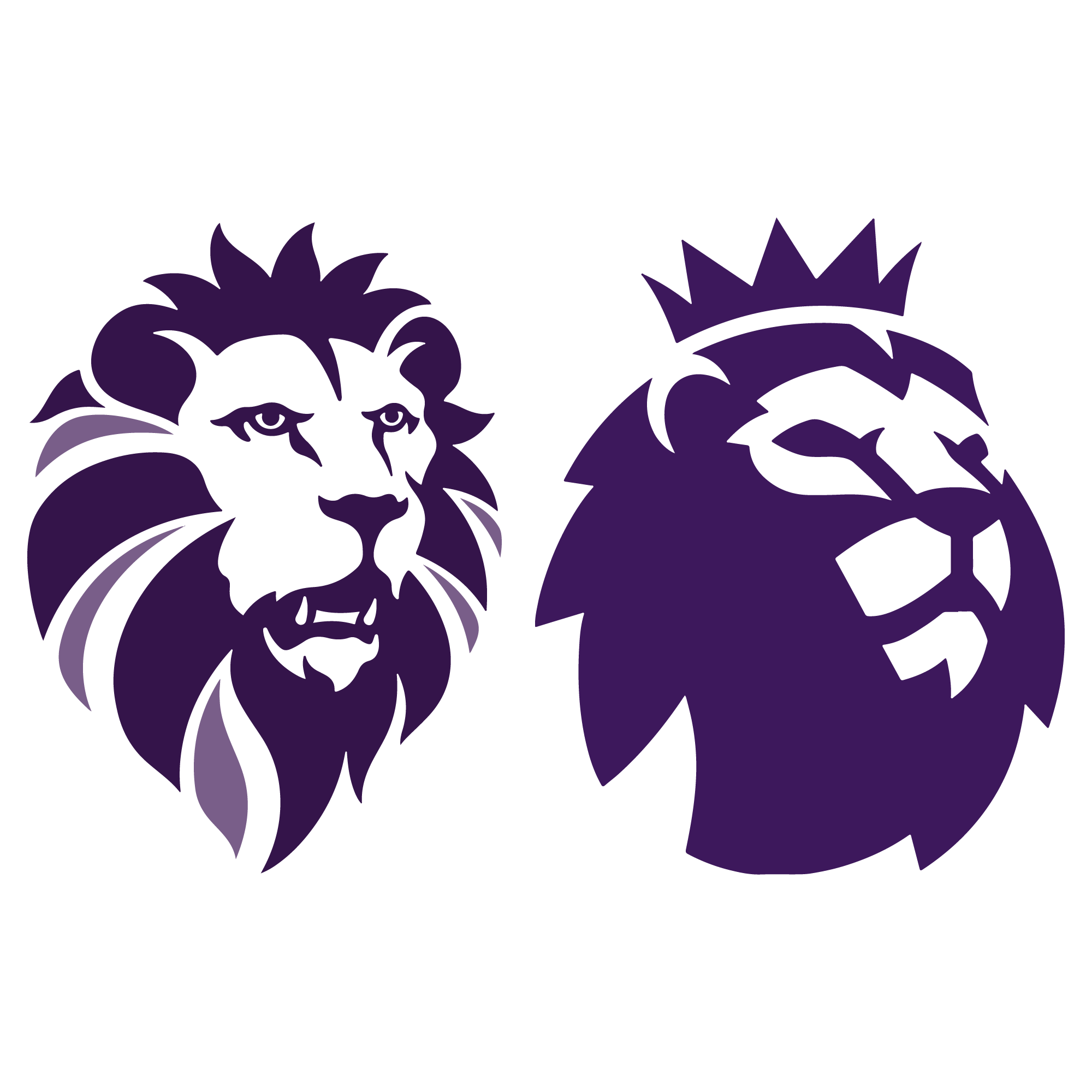 Collection of Premier league clipart.
