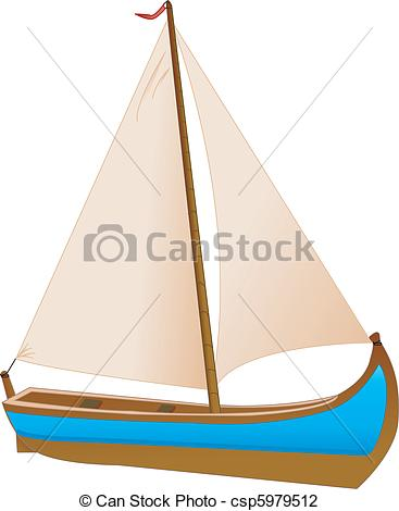 Vector Illustration of Barco.
