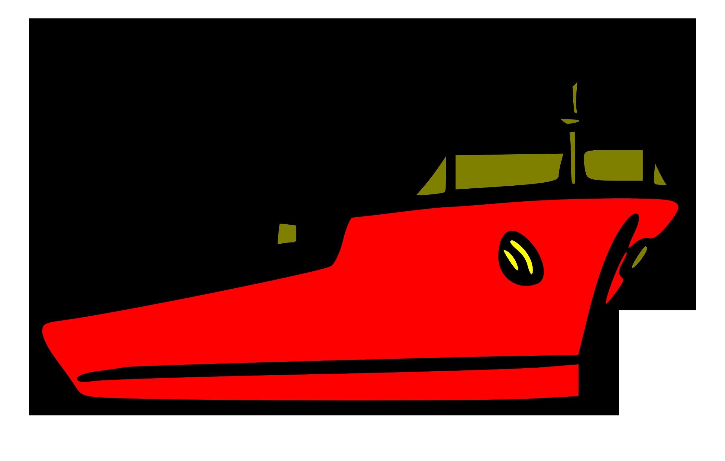 Barco Carguero Vector Clipart.