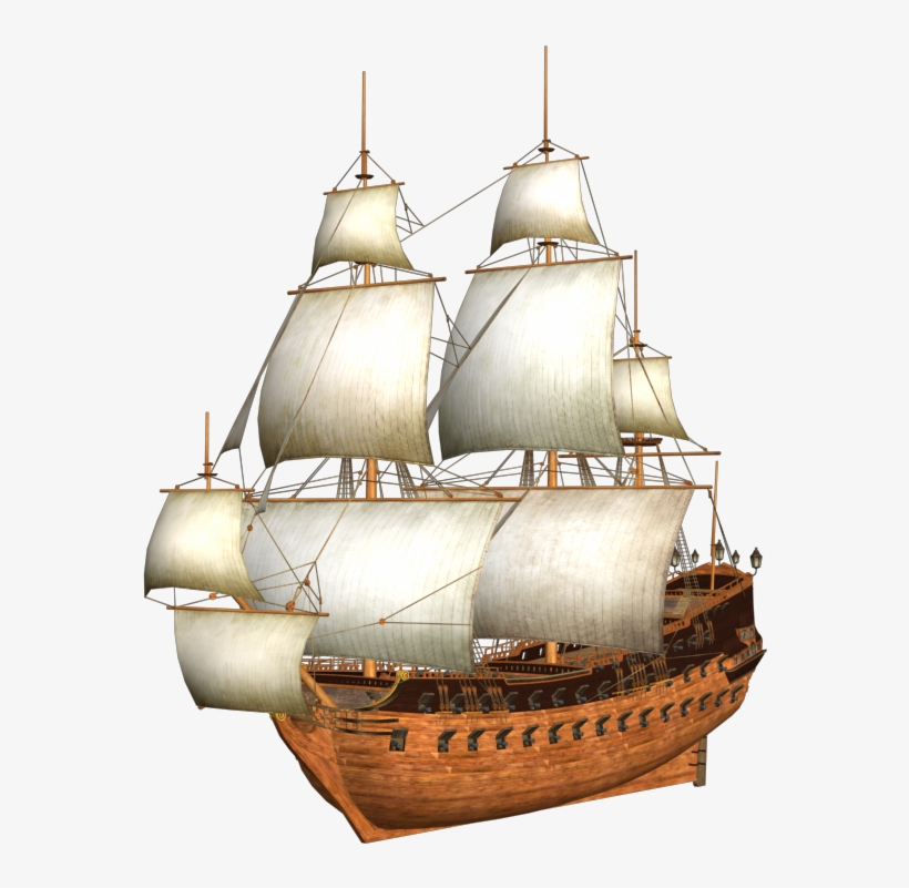 Old Ship Png.