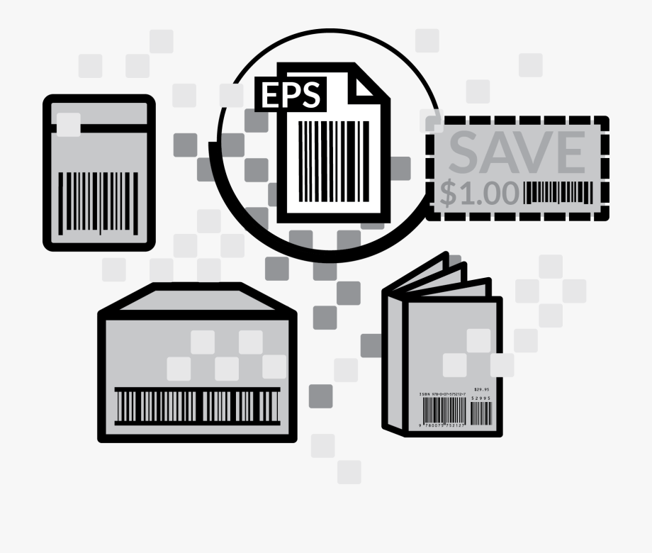 Digital Barcode File, Cliparts & Cartoons.