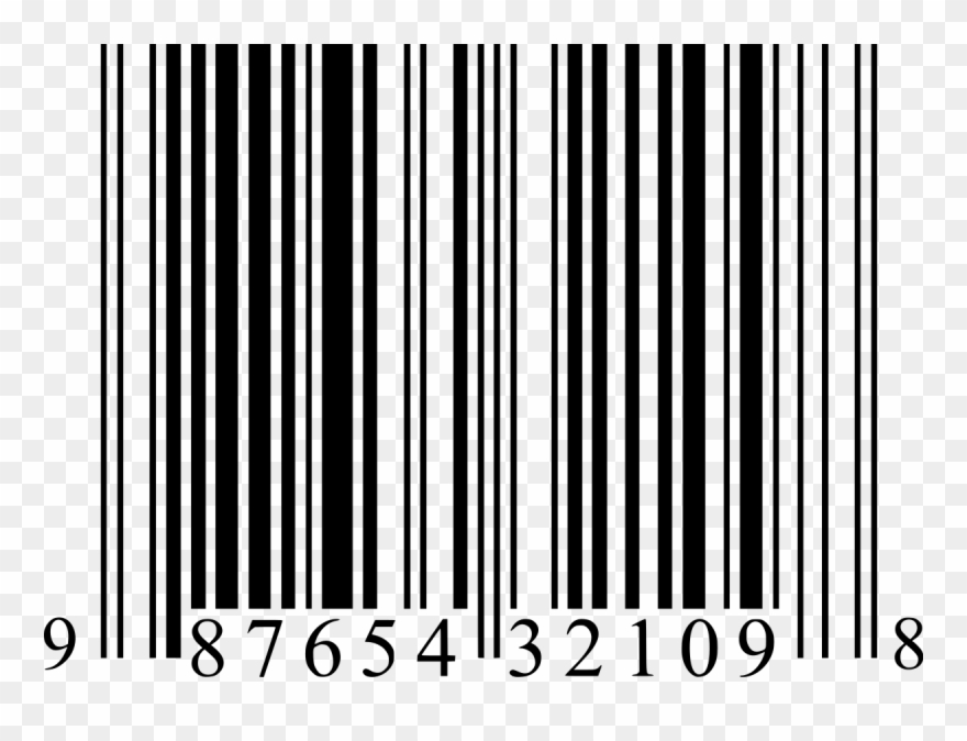 Barcode Clipart Fake Book.