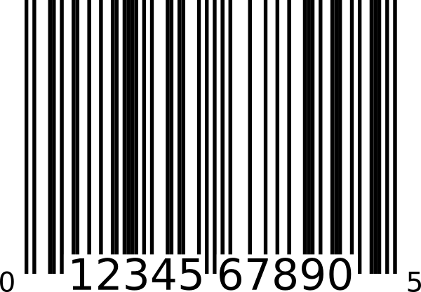 Barcode clipart upce, Barcode upce Transparent FREE for.