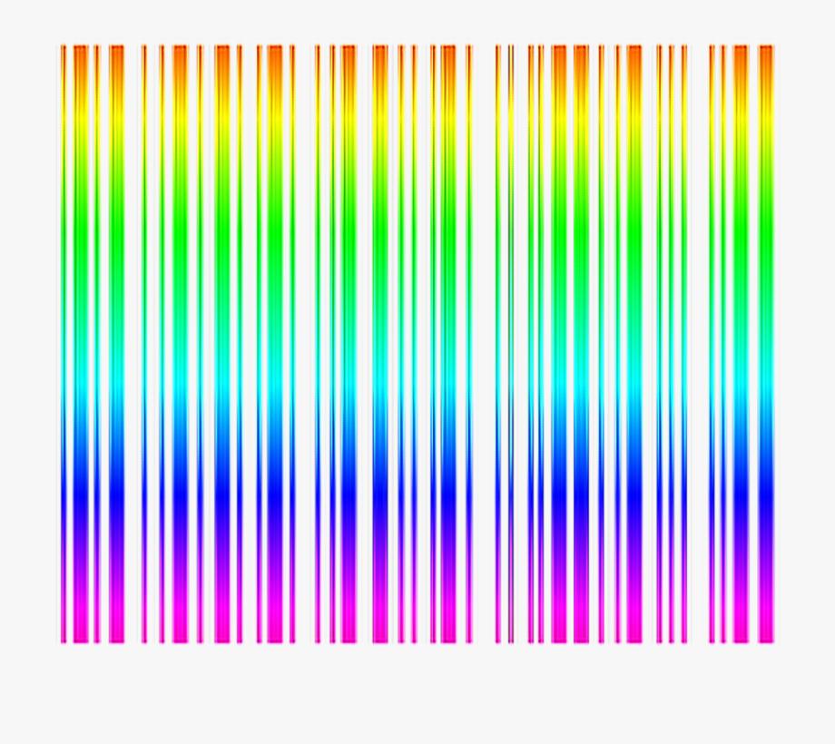 Rainbow Barcode Rainbow Barcode.