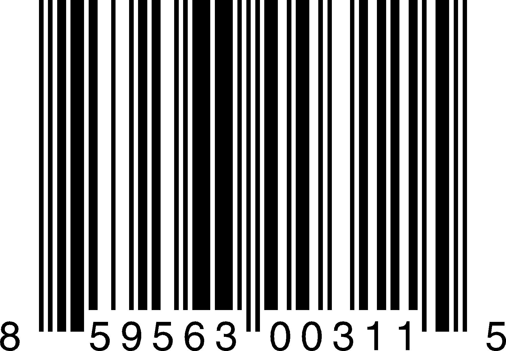 Bar Code Vector Transparent.