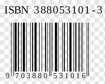 International Standard Book Number Publishing Barcode.