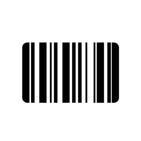 Barcode Icon Vector.