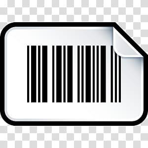 Sleek XP Basic Icons, Barcode, barcode transparent.