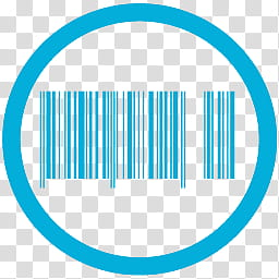 MetroStation, barcode icon transparent background PNG.