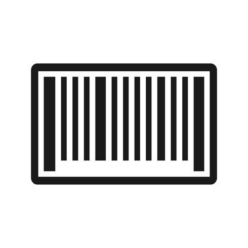 Vector Barcode Icon.