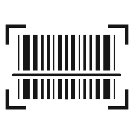 Barcode scanning icon.