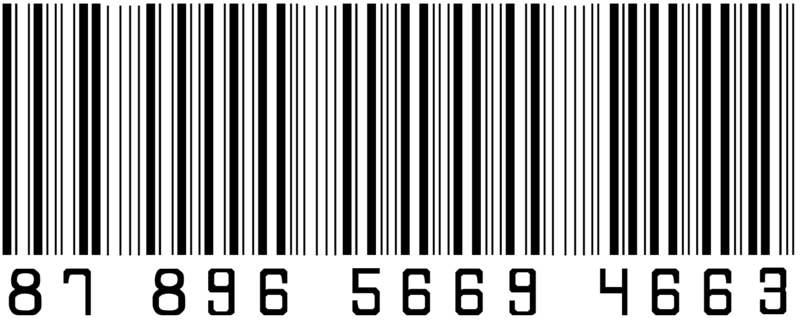 Barcode Transparent PNG.