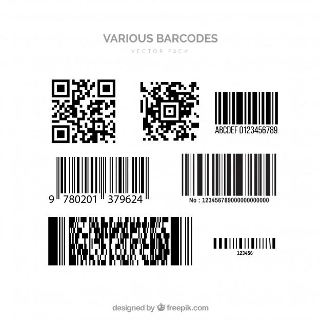 Barcode vectors Vector.