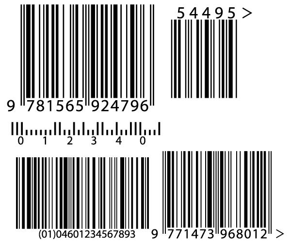 Barcode Vectors.