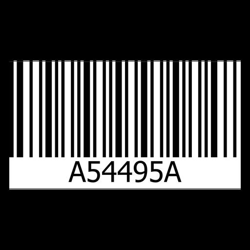 Barcode sticker template.