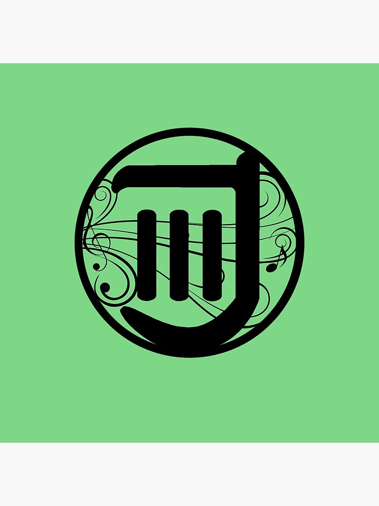 FFXIV Windbite Bard Job Logo (Green).