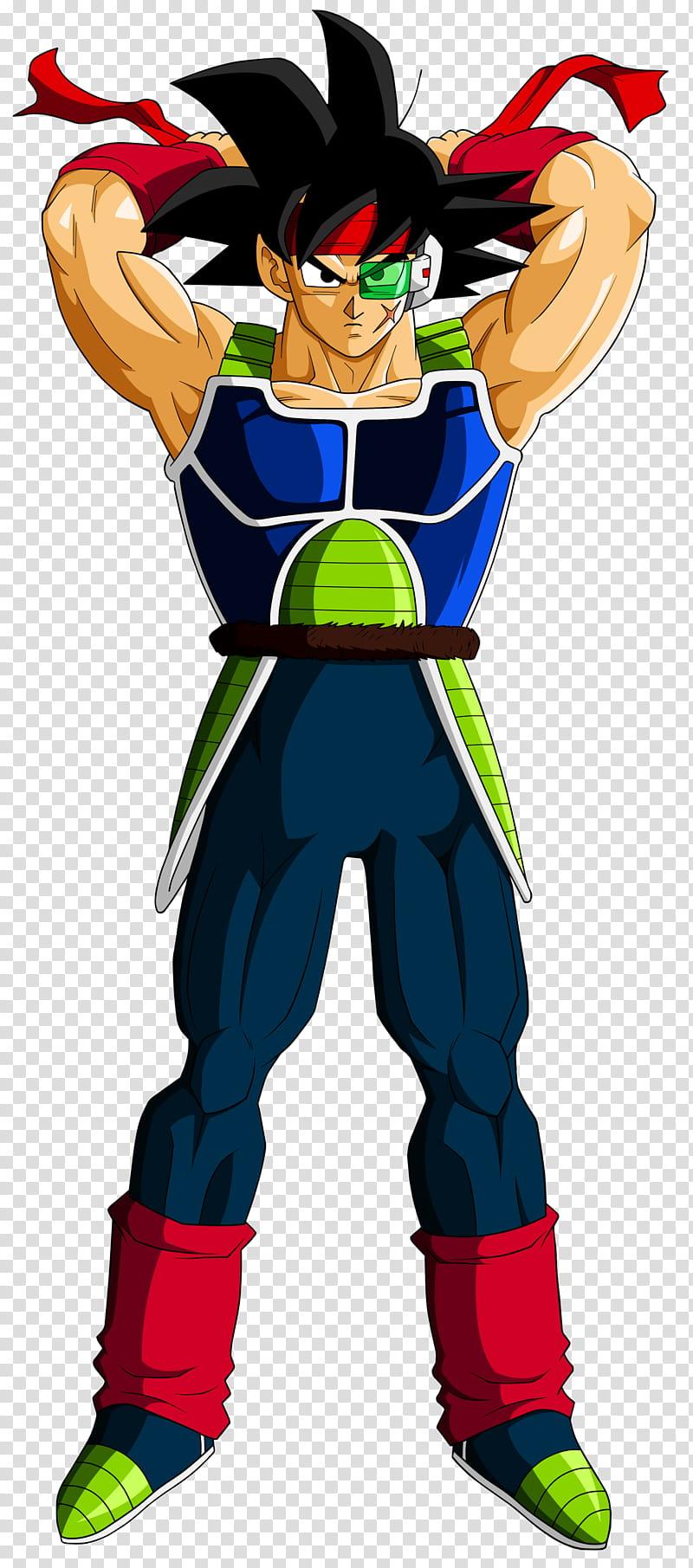 Bardock, Dragon Ball Goku art transparent background PNG.