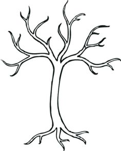 Bare Branch Clipart.