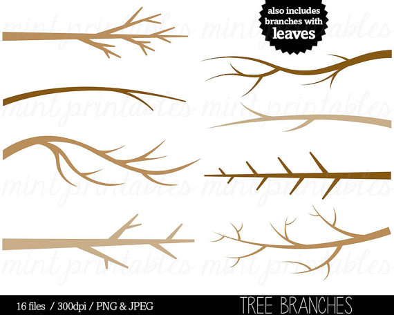 Tree Branch clipart Branch Clip art Tree Branches Tree by.
