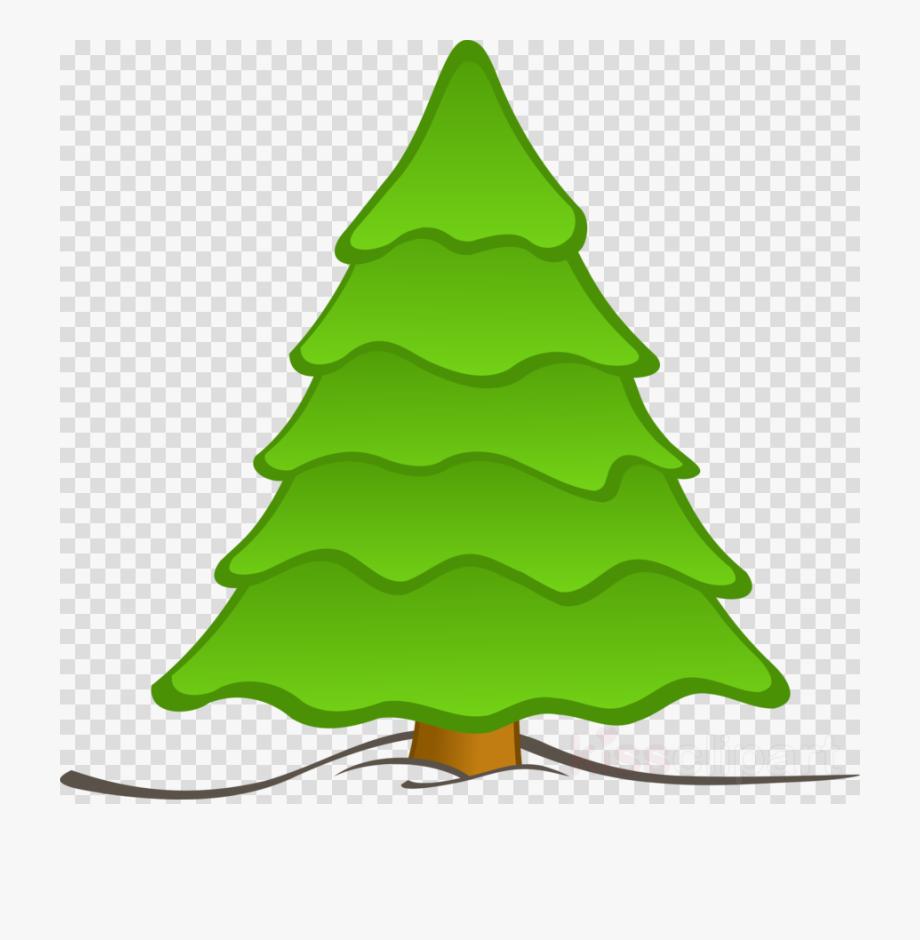 Plain Christmas Tree Clipart , Transparent Cartoon, Free.