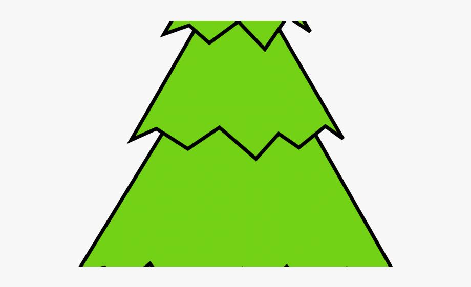 Fir Tree Clipart Bare.