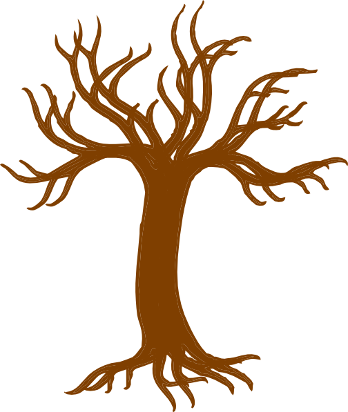 Bare Oak Tree Clipart.