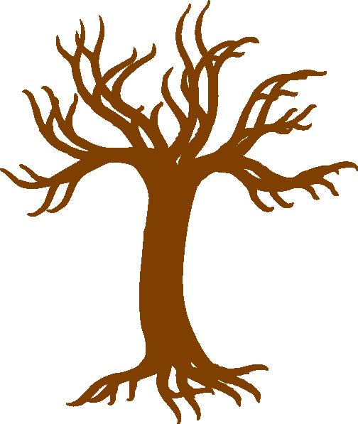 Bare Oak Tree Clipart.