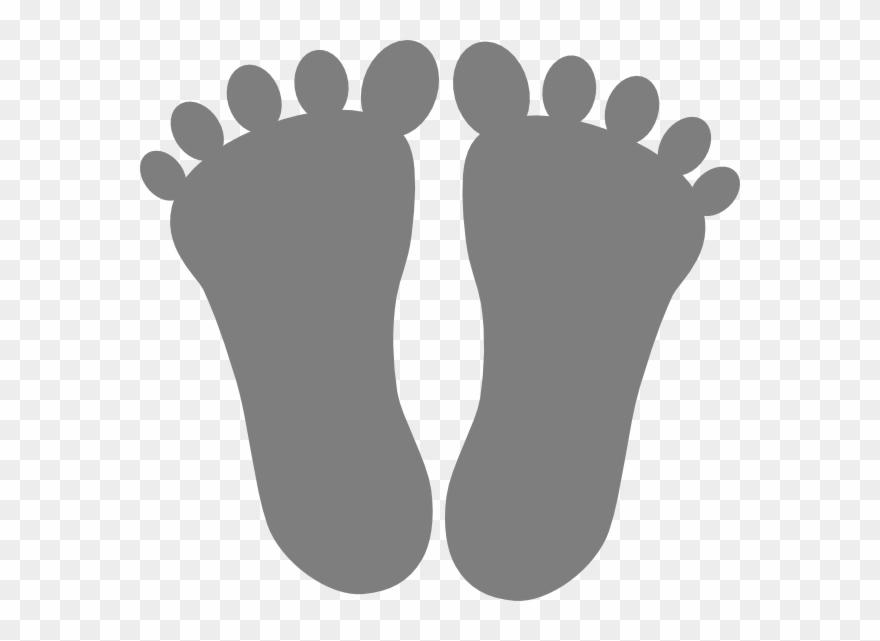 Bare Feet Clip Art.