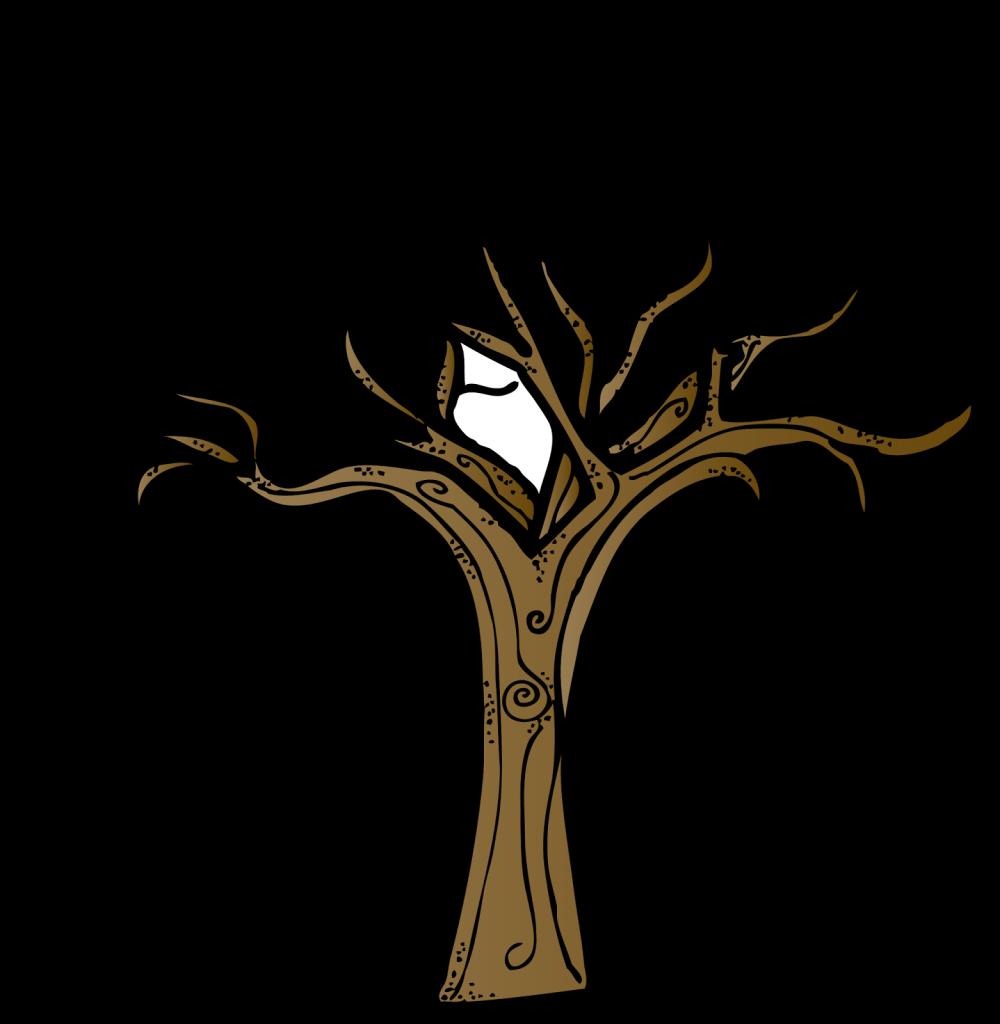 1311 Oak Tree free clipart.