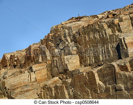 Stock Photo of Rocky landscape.
