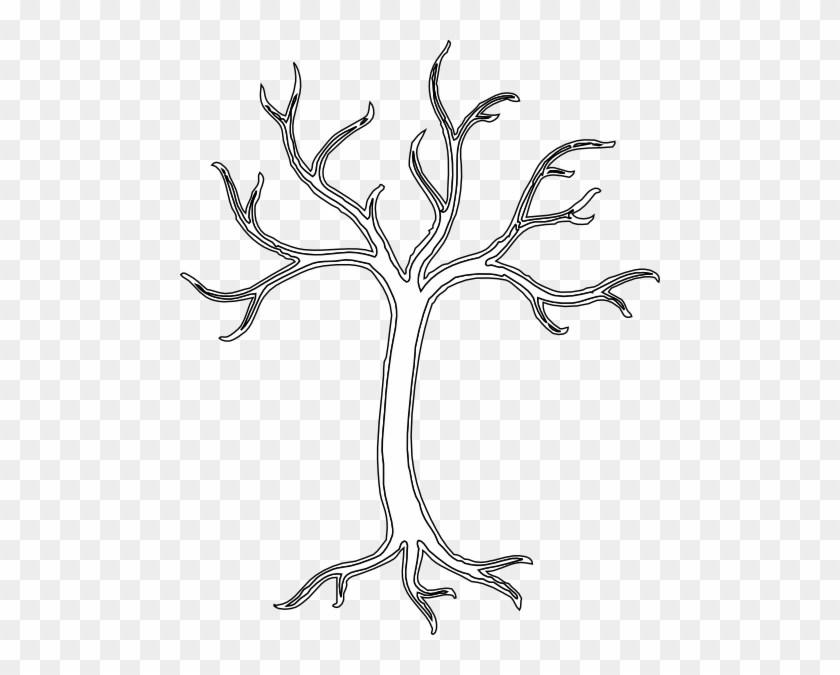 Black and white bare tree clipart 1 » Clipart Portal.