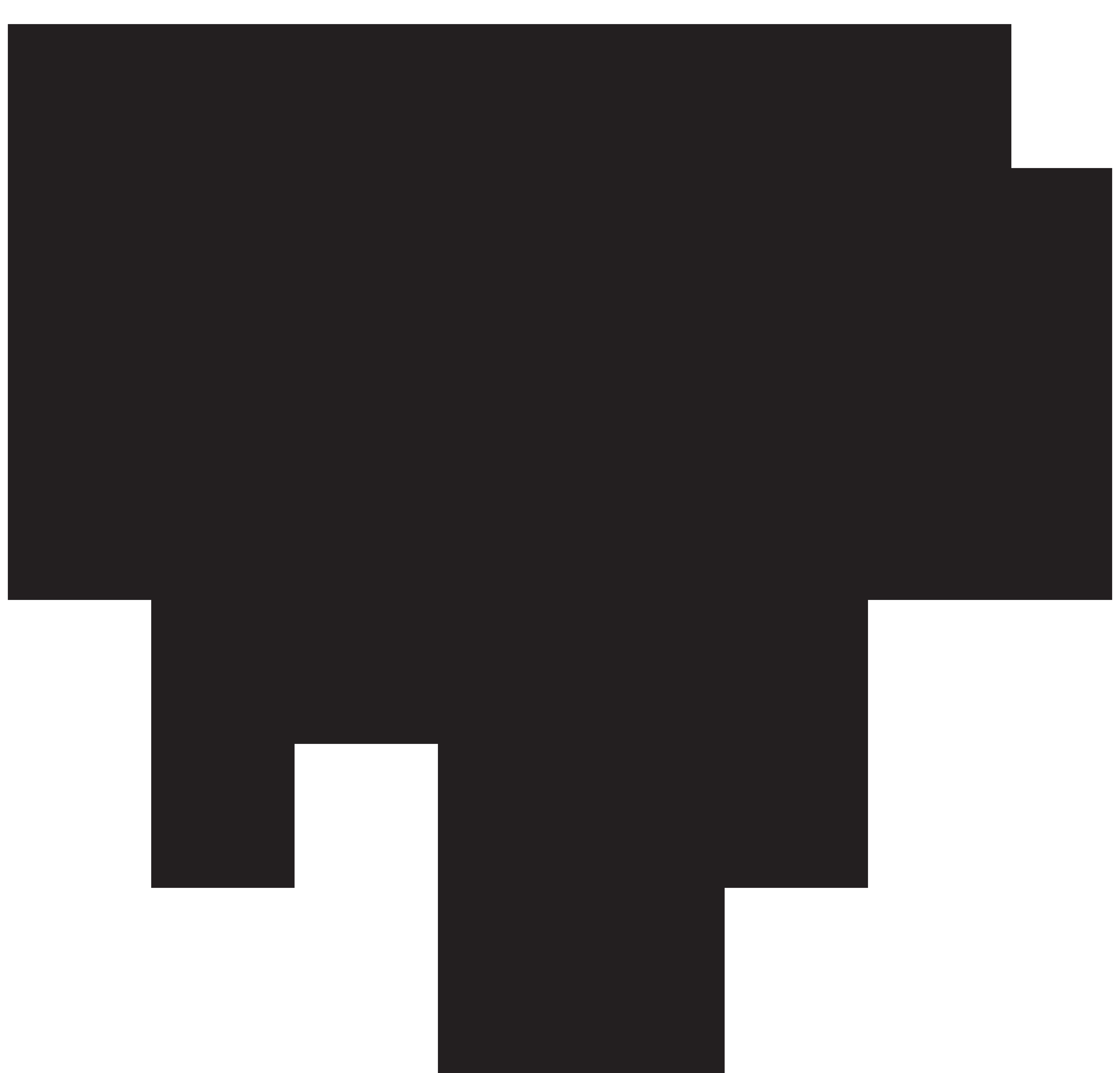 Silhouette Tree Clip art.