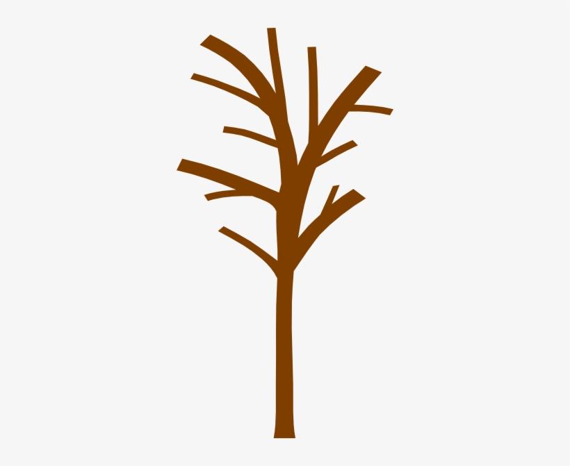 Clip Art Stock Bare Tree Trunk Clipart.