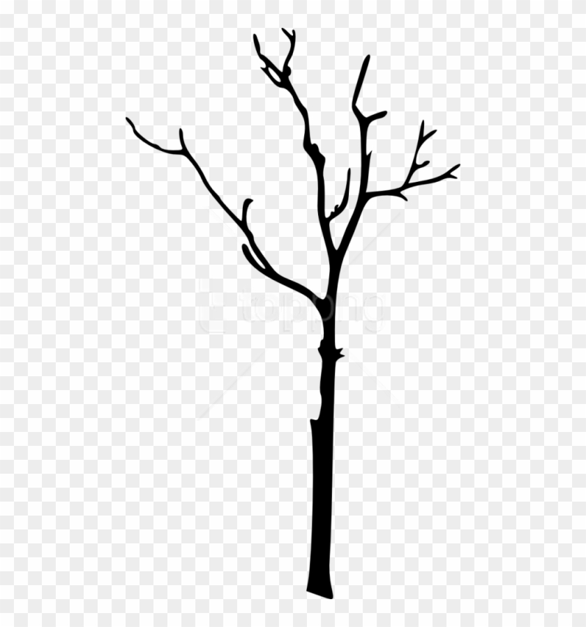 Free Bare Tree Silhouette Free Images Transparent Png.