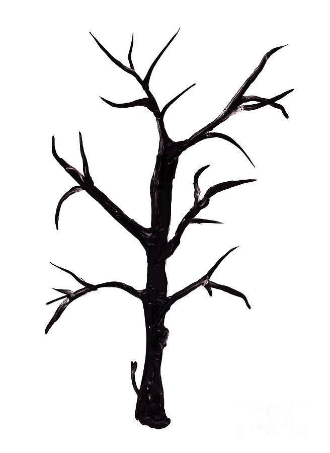 Bare tree clip art free.