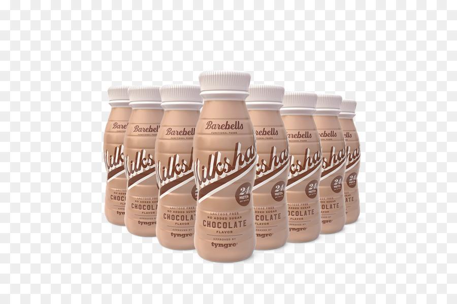 Milkshake Chocolate Protein Strawberry Drink.