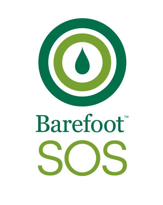 Barefoot SOS logo.