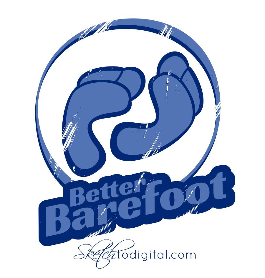 Better Barefoot Illustration (barefoot running).