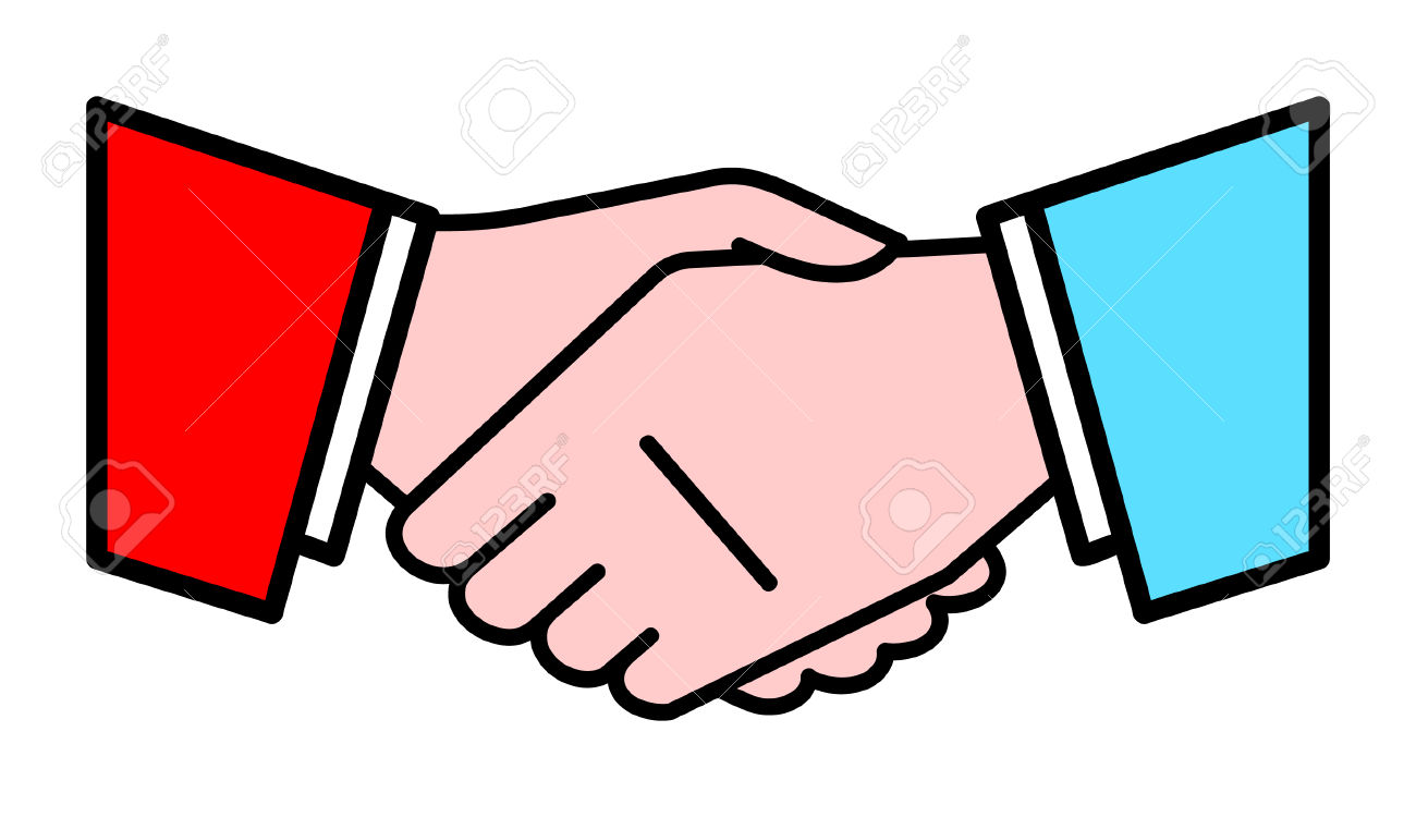 Handshake. Vector Illustration Royalty Free Cliparts, Vectors, And.
