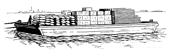 Barge clipart free.
