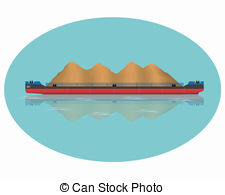 Barge Illustrations and Clip Art. 788 Barge royalty free.