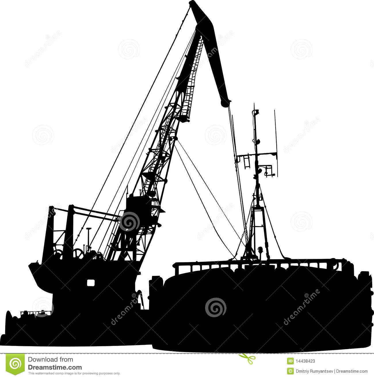 Barge Stock Illustrations.