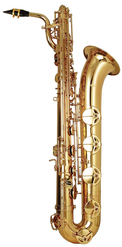 Bari saxophone clipart.